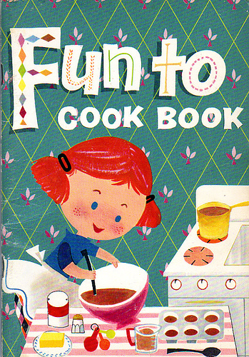 Vintage Cookbook Cover : Vintage cookbook covers