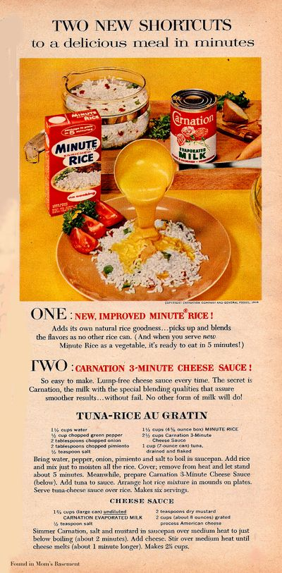 Vintage Ads With Recipes